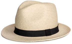 H&M Straw Hat - White