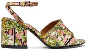 Kenzo Pink Daria Memento Sandals
