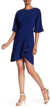 Amanda Uprichard Elbow Length Ruffled Dress