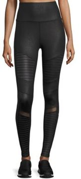 Alo Yoga High Waist Moto Leggings