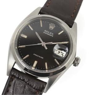 Rolex Oyster Date 6694 Stainless Steel Vintage 35mm Mens Watch