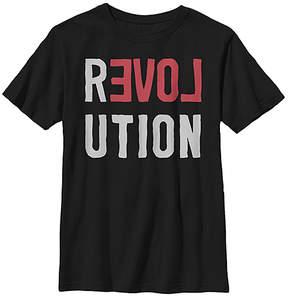 Fifth Sun Black 'Revolution' Crewneck Tee - Youth
