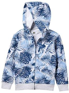 Petit Lem Key West Surf Allover Zip Hoodie (Toddler & Little Boys)
