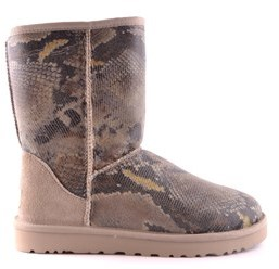 UGG Women's Multicolor Fabric Ankle Boots.