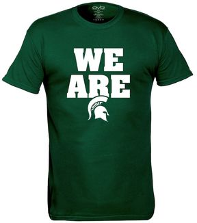 NCAA Men's Michigan State Spartans We Are Tee
