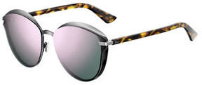 Christian Dior Murmure Round Mirrored Sunglasses