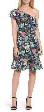 Chelsea28 One-Shoulder A-Line Dress