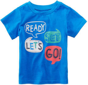 First Impressions Word-Print Cotton T-Shirt, Baby Boys (0-24 months), Created for Macy's