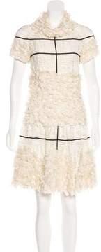 Chanel Embellished A-Line Dress