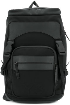 Y-3 large padded backpack