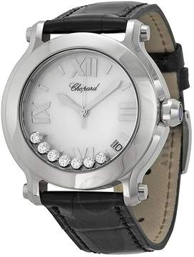 Chopard Happy Sport II Round Mother of Pearl Diamond Dial Ladies Watch