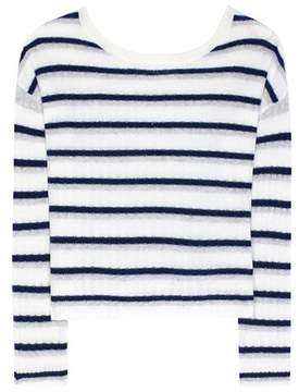 81 Hours 81hours Calanta striped cashmere sweater