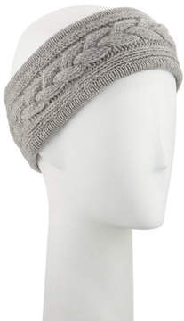 Neiman Marcus Cashmere Cable-Knit Headband