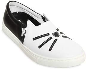 Karl Lagerfeld Cat Whispers Slip-On Sneakers