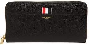 Thom Browne Patent Leather Zip Around Wallet