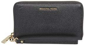 Michael Kors Mercer Large Phone Wristlet - Black - ONE COLOR - STYLE