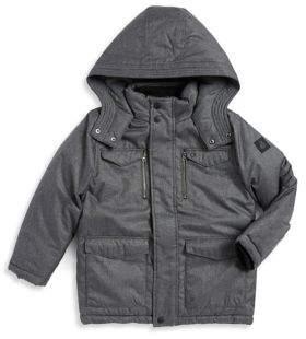 Calvin Klein Jeans Little Boy's Hooded Military Jacket