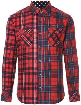 GUILD PRIME panel check shirt