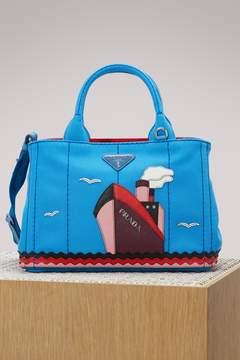 Prada Boat canvas handbag