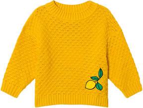 Mini Rodini Yellow Lemon Knitted Sweater