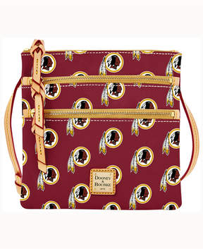 Dooney & Bourke Washington Redskins Triple-Zip Crossbody Bag - MAROON - STYLE
