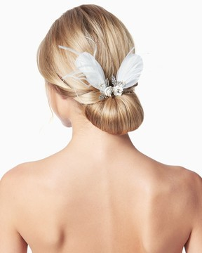 Charming charlie Flora Feathers Hair Pins