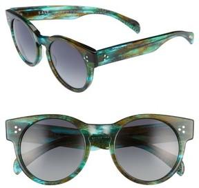 Salt Women's 51Mm Polarized Cat Eye Sunglasses - Sandy Sea Green