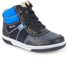 Geox Baby's and Kid's Flick Leather Sneakers