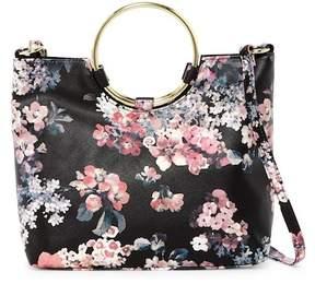 T-Shirt & Jeans Floral Ring Handle Shoulder Bag