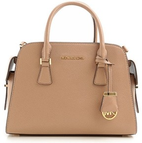 MICHAEL Michael Kors Harper Medium Leather Satchel DARK KHAKI - 30T5GRPS2L-185 - DARK KHAKI - STYLE