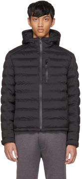 Prada Black Down High Neck Puffer Jacket