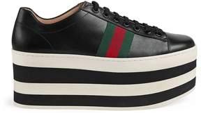 Gucci Leather platform sneaker