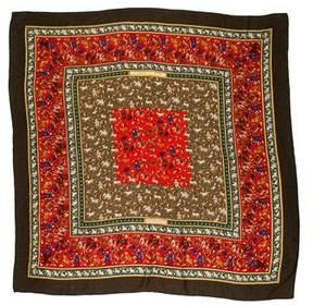 Hermes Chasse En Inde Fine Knit Shawl