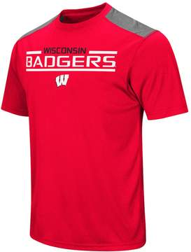 NCAA Men's Campus Heritage Wisconsin Badgers Rival Heathered Tee