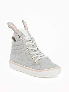 Old Navy Bunny Felt High-Tops for Toddler Girls & Baby