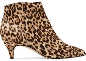 Sam Edelman Kinzey Leopard-print Calf Hair Ankle Boots - Leopard print