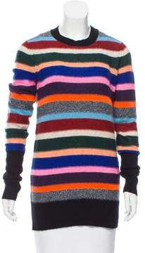 White + Warren Cashmere Striped Sweater w/ Tags