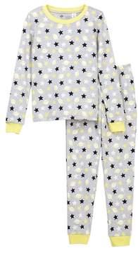 Tucker + Tate Glow in the Dark Pajama Set (Toddler, Little Girls, & Big Girls)