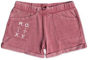Roxy Rolled-Cuff Shorts, Big Girls