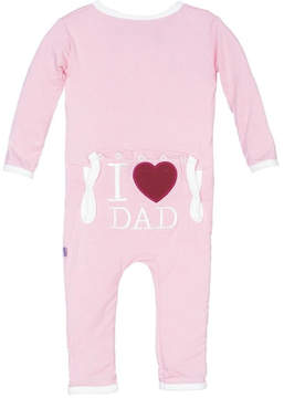 Kickee Pants Pink Coverall