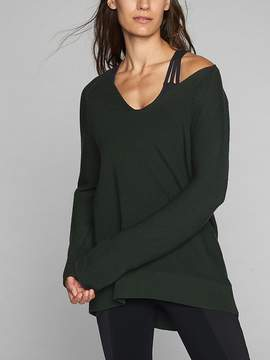 Athleta Merino V-Neck Sweater