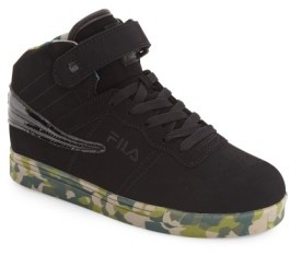 Fila Boy's Vulc 13 Mashup High Top Sneaker