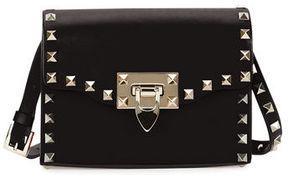 Valentino Rockstud Mini Leather Flap Shoulder Bag