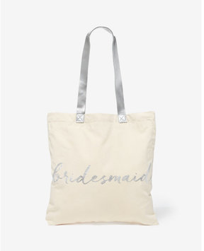 Express rosanna bridesmaid canvas tote