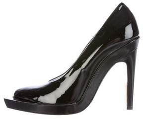 Calvin Klein Collection Celia Patent Leather Pumps