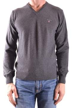 Gant Men's Grey Wool Sweater.