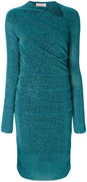A.F.Vandevorst long sleeved slim-fit dress