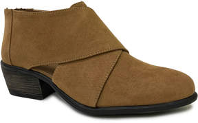 Bamboo Tan Sadie Ankle Boot - Women
