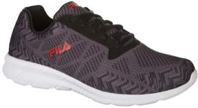 Fila Mens Memory Sipped Knit Athletic Shoes