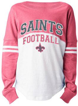 5th & Ocean New Orleans Saints Sweeper Long Sleeve T-Shirt, Girls (4-16)